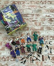 New listing 1990 Dick Tracy Action Figure Playmates Lot Accessories Flattop Big Boy Case