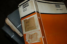 CASE W14 ARTICULATED FRONT END Wheel LOADER Repair Shop Service Manual book oem