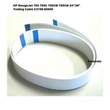 """Imprimante hp designjet 36"""" 700 750C 750CM 755CM câble souple C3195-80009 neuf"""