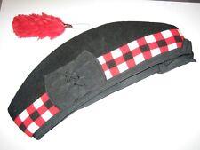 chapeau Fine qualité hackle//plume de glengarry balmoral