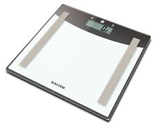 Salter Glass Analyser Digital Bathroom Scales - Measure BMI Body Fat, Body Water