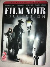 Film Noir Collection - 2 DVD Embossed Tin DVD 10 Classic Films