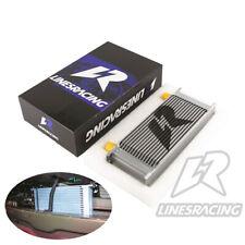 LINESRACING Silver Universal 16 Row AN10 Engine Oil Cooler 248mm 10AN Oil Cooler