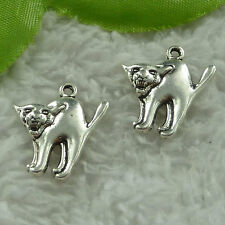 free ship 248 pieces tibet silver dog charms 21x19mm #3861