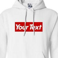 Custom Subvert Hoodie - Personalized Supreme Parody Hooded Sweatshirt All Colors