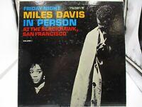 Miles Davis in Person At The Blackhawk San Francisco CL 1669, 6Eye Mono VG c VG+