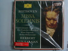 KARAJAN Beethoven/ Missa Solemnis 2LP BOX Imp GERMANY Shrink DG 2707 030 Stereo