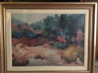 Joan HILLARD  Original Acrylic / Mixed Georgia Landscape Title Unknown