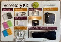 Apple IPod Shuffle Accessory Kit arm band, charger, cases, organizer & more NEW