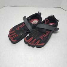 FILA Skele-Toes Mens EZ Slide Drainage Barefoot Running Water Boat Shoes Size 7