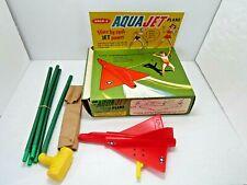 VINTAGE RARE 1962 WHAM-O AQUA JET PLANE IN ORIGINAL BOX UNUSED 1960'S TOY