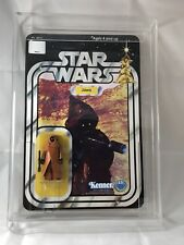 Awesome Custom Star Wars 12 Back Vinyl Cape Jawa figure MOC Display Piece Utinni