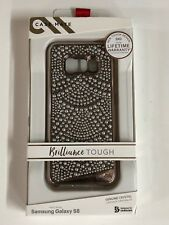 Case Mate Brilliance Tough Lace Case Cover for Samsung Galaxy S8 Rose Gold