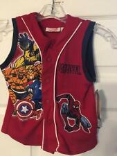 Marvel Kids Super HeorsToddler Boy's Vest Red and Blue Size 7X N with tags.