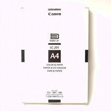 Canon LC -201 Color Fotopapier A4  250st! Ungeöffnet Nr.781