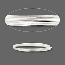 1029WR .925 Sterling Silver Wire Jewelry Making Full-hard Round 20ga 5 feet USA
