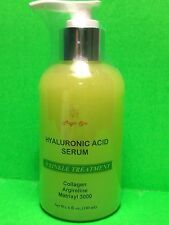 6oz. Hyaluronic Acid Serum LMW, Collagen,Argireline,Matrixyl, VitaminC,newsealed