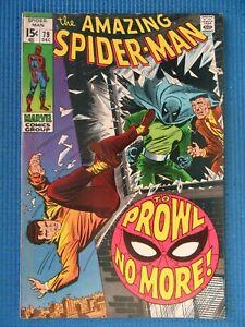 AMAZING SPIDER-MAN # 79 - (VF-) -PROWLER - J. JONAH JAMESON,GWEN STACY,KINGPIN