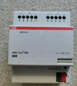 ABB JA/S 4.6.1 EIB KNX Jalousieaktor 4fach 230VAC JA/S4.6.1