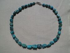 Natürliche Echtschmuck aus Sterlingsilber mit Türkis-Perlen