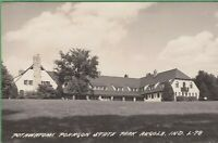 Vintage Antique Indiana IN Postcard Potawatomi Pokagon Park Angola RPPC 1949