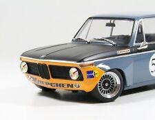 BMW 2002 Koepchen 1968 #53 blau / Orange mehrteilige Alpina Alufelgen Umbau 1/18