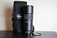Nikon AF-S 300mm F4 ED Prime FX Lens w/ Hoya HMC UV Filter!  US Model!