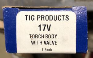 Radnor 17V Tig Torch Rigid Head With Valve 150 Amp