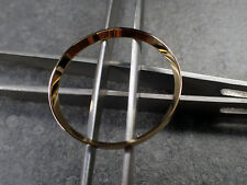 GOLD POLISHED ST.STEEL CUSTOM CHAPTER RING FOR SEIKO SKX 007 7S26-0020 R-01-PPG