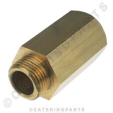 Burco 083304300 in ottone tubo di estensione rubinetto Pezzo caldaia di acqua calda 60mm 15mm