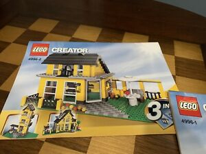LEGO Creator Instruction Manual Booklet Only 4996-1 & 4996-2 4996