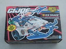 1992 GI Joe Cobra ICE SNAKE MIB Factory Sealed
