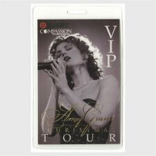 Amy Grant authentic 1997 concert Laminated Backstage Pass Christmas Tour Vip