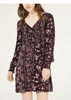 NWT American Rag Junior's Bohemian Printed Smocked Dress Size Medium
