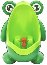 Cute Frog Shape Children Kids Potty Training Urinal for Boys Removable Toilet Pe