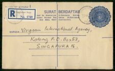 Mayfairstamps MALAYSIA STATIONERY 1974 COVER PENGKALAN CHEPA REGISTERED wwh24477