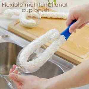 Foam Wine Bottle Brush Decanter Stemwares Glasses Dust Cleaning Brush
