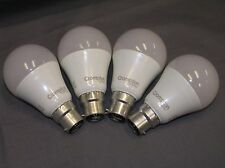 2 x Crompton Twin Pack 6W A60 Shape B22 Base LED Globe Frosted 3000K Warm White
