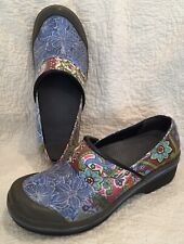 Look! DANSKO Mixed Print Floral Clogs * Size 38/US 7.5-8