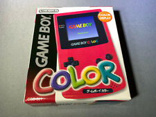Nintendo Game Boy Color Console Berry Japan Brand New Mint