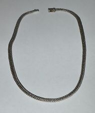 JOHN HARDY STERLING SILVER AND 18 K GOLD NECKLACE FROM DOT COLLECTION