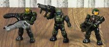 Halo Mega Bloks Lot Of 3 UNSC 96970 Anniversary | Mattel / Microsoft / 343
