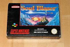 Soul Blazer - Super Nintnedo - pal francais