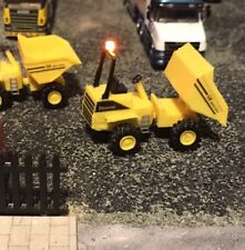 3D Printed  Articulated Dumper Truck ,Suit 1/76 scale & 00 Gauge. Working Beacon