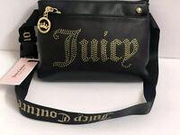 Juicy Couture Handbag Belt Shoulderbag Black Desert Bag MSRP $69