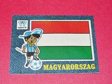 PANINI FOOTBALL 1978 ECUSSON JEAN DENIM MAGYARORSZAG ARGENTINA 78 WC WM MUNDIAL