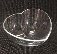 "Kosta Boda // ""Heart"" Crystal Bowl // Engman Design // #58823 // Beautiful!!"