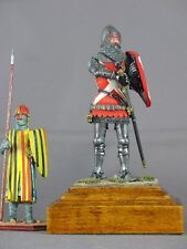 Border Miniatures Medieval armored 70mm model figure knight by Pete Armstrong