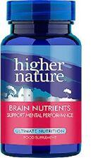 Higher Nature Premium Naturals Advanced Brain Nutrients 30 caps
