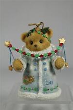 Cherished Teddies 2013 Dated Bell Ornament Bear Angel 'You Put The..#4034599 NIB